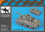 BLACK DOG T35138 - 1:35 British Sherman Firefly hessian tape N°2