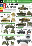 BISON DECALS 35112 - 1:35 Bulgarian Tanks in WW 2