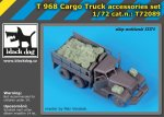 BLACK DOG T72089 - 1:72 T 968 Cargo Truck accessories set