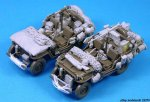 LEGEND LF1245 - 1:35 Willys MB Stowage set (for 2 Vehicles)