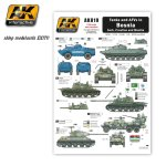 AK INTERACTIVE 810 - Tanks and AFVs in Bosnia for Serb, Croatian and Muslim vehicles