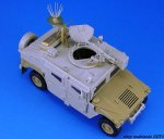 LEGEND LF1159 - 1:35 IDF Uparmored Humvee Conversion set (for Academy)