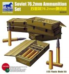 BRONCO AB 3534 - 1:35 Soviet 76.2mm Ammunition Set