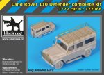 BLACK DOG T72088 - 1:72 Land Rover 110 Defender complete kit