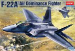 ACADEMY 12212 - 1:48 F-22A Air Dominance Fighter