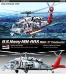 ACADEMY 12120 - 1:35 U.S.Navy MH-60S HSC-9 Tridents