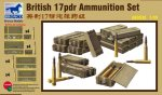 BRONCO AB 3535 - 1:35 British 17pdr Ammunition Set