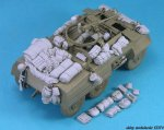 LEGEND LF1265 - 1:35 M20 Armored Utility Car Stowage set