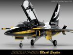 ACADEMY 12242 - 1:48 R.O.K.A.F T-50B Black Eagles