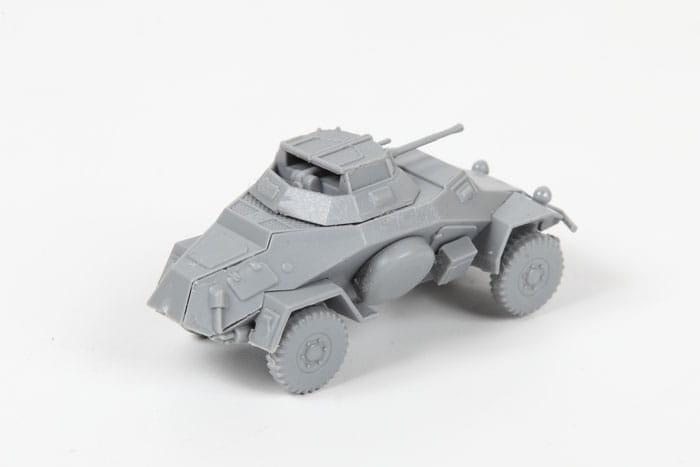 zvezda 6157 1 100 sd armored car. Black Bedroom Furniture Sets. Home Design Ideas