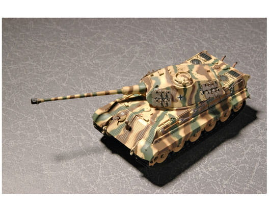 07202 Trumpeter Танк Sd.Kfz.  182 King Tiger (Королевский тигр) Porsche turret Масштаб...