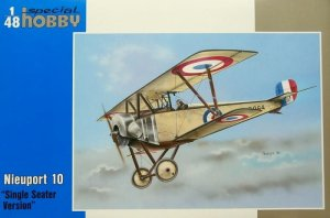 SPECIAL HOBBY 48082 - 1:48 Nieuport 10 Single Seater Version