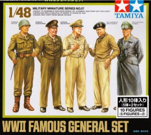 TAMIYA 32557 - 1:48 Famoues Generals set