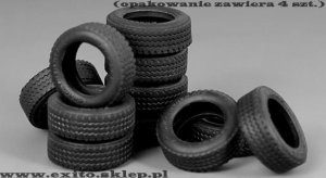MENG MODEL SPS001 - 1:35 Tyres for vehicle / diorama (4 szt)