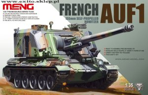 MENG MODEL TS004 - 1:35 French AUF1 155mm Self-propelled Howitzer