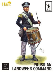 HAT 9325 - 1:32 Prussian Landwehr Command