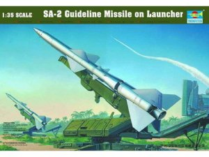 TRUMPETER 00206 - 1:35 SA-2 Guideline Missile w/Launcher