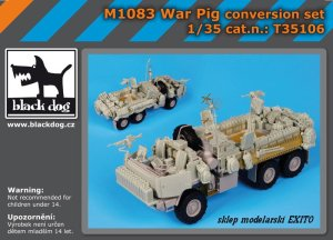BLACK DOG T35106 - 1:35 M1083 War Pig accessories set
