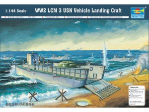 TRUMPETER 00102 - 1:144 WW2 LCM 3 USN Vehicle Landing Craft