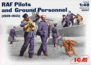 ICM 48081 - 1:48 RAF Pilots and Ground Personnel (1939-1945)