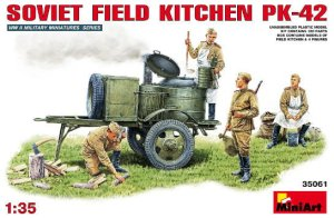 MINIART 35061 - 1:35 Soviet Field Kitchen KP-42