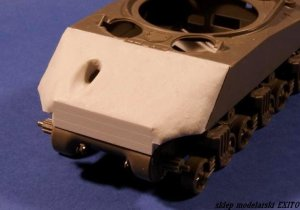 PANZERART 35170 - 1:35 Concrete Armor for M4A3 Sherman (VVSS suspension)