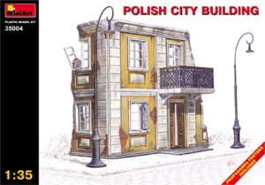 MINIART 35004 - 1:35 Polish City Building