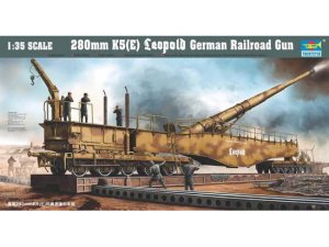 TRUMPETER 00207 - 1:35 280mm K5(E) Leopold German Railroad Gun