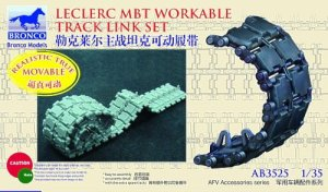 BRONCO AB 3525 - 1:35 French Leclerc MBT Workable Track Link Set