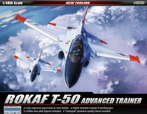 ACADEMY 12231 - 1:48 ROKAF T-50 Advanced Trainer
