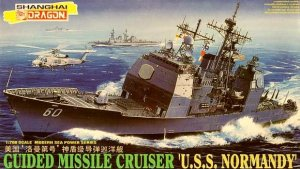 DRAGON 7023 - 1:700 USS Normandy - Guided Missile Cruiser