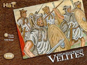 HAT 9118 - 1:32 Republican Romans - Velites