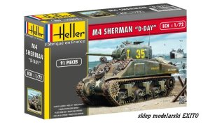 HELLER 79892 - 1:72 M4 Sherman D-Day