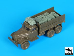 BLACK DOG T72104 - 1:72 Zil 157 Soviet army truck accessories set