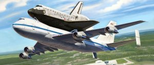 REVELL 04863 - 1:144 Boeing 747 SCA & Space Shuttle