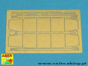 ABER 72A04 - 1:72 Side skirts for Pz.Kpfw IV Ausf.G and Sturmpanzer IV Brummbar
