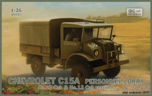 IBG 35037 - 1:35 Chevrolet C15A Personnel Lorry No.13 Cab & No.12 Cab version