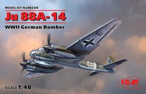 ICM 48234 - 1:48 Junkers Ju 88A-14 WWII German Bomber
