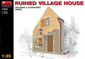 MINIART 35520 - 1:35 Village Ruined House