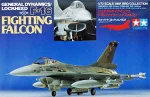 TAMIYA 60701 - 1:72 F16 Fighting Falcon