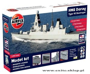AIRFIX 50132 - 1:350 HMS Daring Type 45 Destroyer