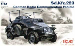 ICM 72421 - 1:72 Sd.Kfz.223 German Radio Communication Vehicle
