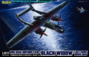 GREAT WALL HOBBY 4810 - 1:48 Northrop P-61B Black Widow - Last Shoot Down 1945