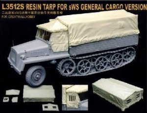 GREAT WALL HOBBY 3512S - 1:35 sWS General Cargo Version - Resin Tarp