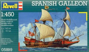 REVELL 05899 - 1:450 Spanish Galleon