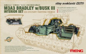 MENG MODEL SPS017 - 1:35 Interior set - US Cavalry Fightning Vehicle M3A3 BRADLEY w/BUSK III