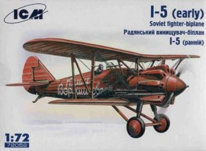 ICM 72052 - 1:72 I-5 (early), Soviet Fighter-Biplane