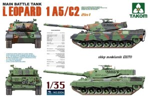 TAKOM 2004 - 1:35 Leopard 1 A5/C2 Main Battle Tank