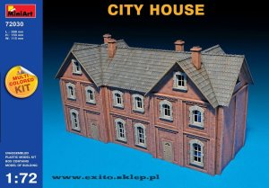MINIART 72030 - 1:72 City House - multicolored kit