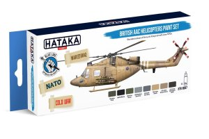 HATAKA BS87 - British AAC Helicopters paint set